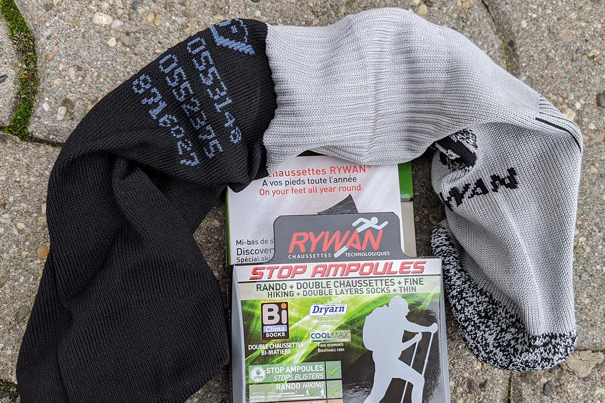 RYWAN Socke auf links gedreht