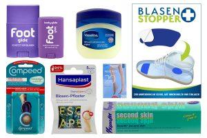 Darstellung von verschiedenen Hilfsmitteln zur Blasenverhinderung